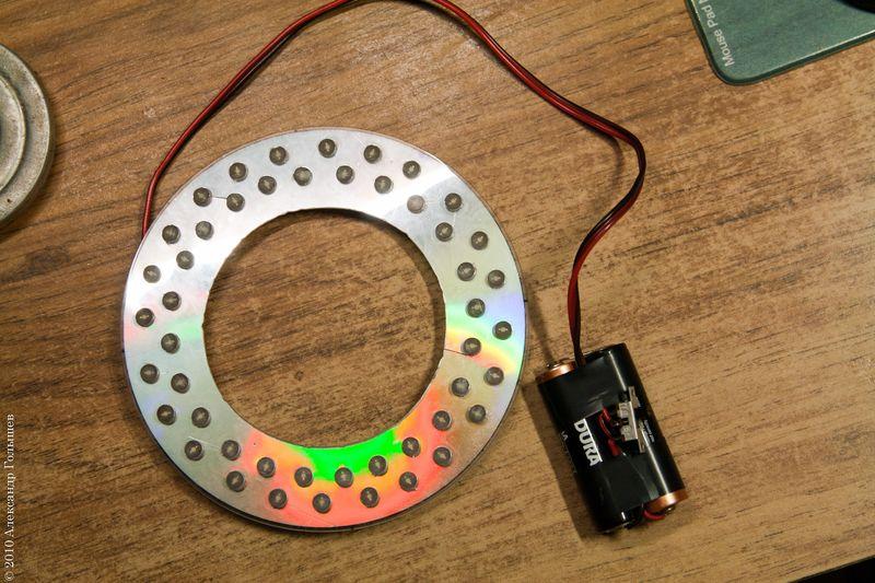 Как сделать подсветку диод 328