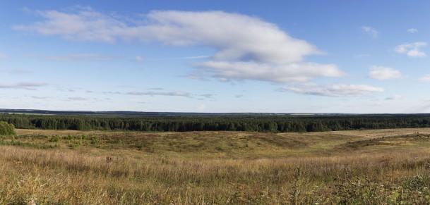 Холмы. Панорама.