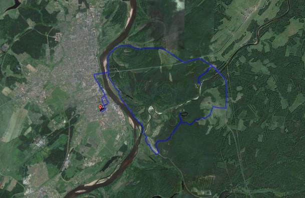 Слободской - Каринский перевоз