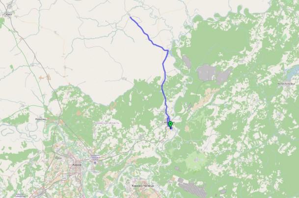 маршрут до Лекмы