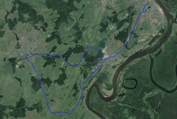 маршрут до Вахрушей