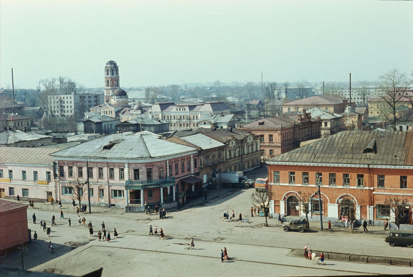 Вид с колокольни Спасо-Преображенского собора