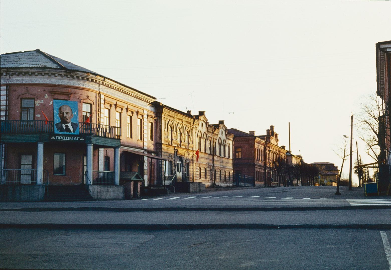 Перекресток улиц Вятская и Советская