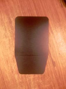 Отражатель для накамерной вспышки своими руками - визитка