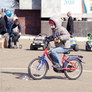 День мыльных пузырей Киров 2011