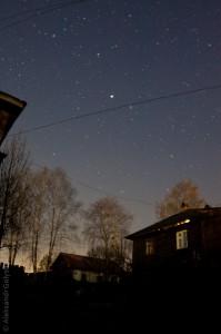 Ночьное небо