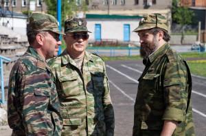 Командиры отрядов и начальник лагеря