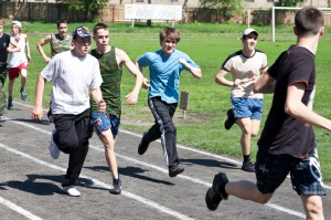Бег на три километра