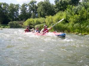 Перекаты на реке Немда
